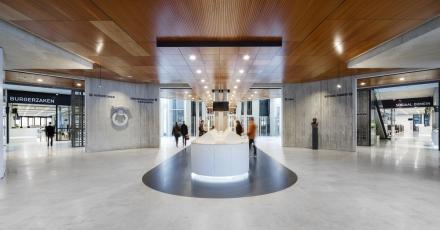 Oorspronkelijke kwaliteit stadhuis Almere naar voren