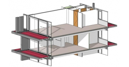 Open BIM-constructie voor renovatieproject Rotterdam