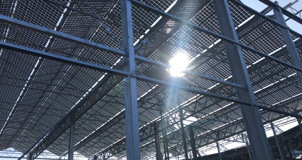 Overkapping van zonnepanelen voegt waarde toe aan grond