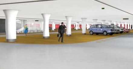Parkeergarage op Jaarbeursplein verschijnt in 2018