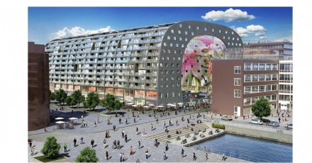 Partners realiseren ventilatieconcept in Markthal Rotterdam