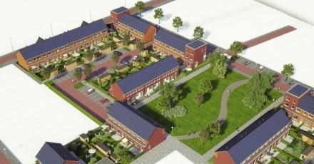Pensioenfonds koopt 55 energiezuinige woningen