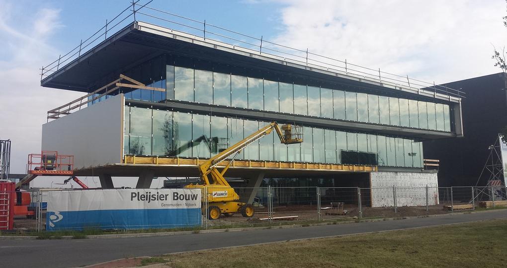 Pleijsier Bouw bouwt zijn eigen gezonde en duurzame kantoorpand