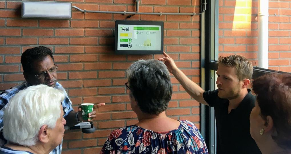 Proef met batterij voor energieneutraal appartementencomplex