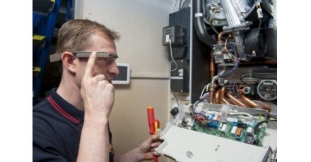 Proef met slimme bril voor monteurs