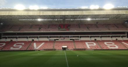 PSV krijgt innovatieve led-stadionverlichting
