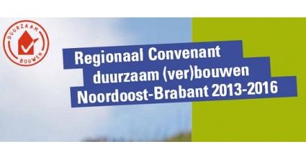 Regionaal Convenant Duurzaam Bouwen ondertekend