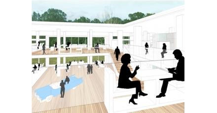Revitalisatie van kantoorgebouw Veendam