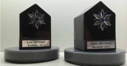 Rien van Rooij en Leo Vermaat winnen Bouwster 2015