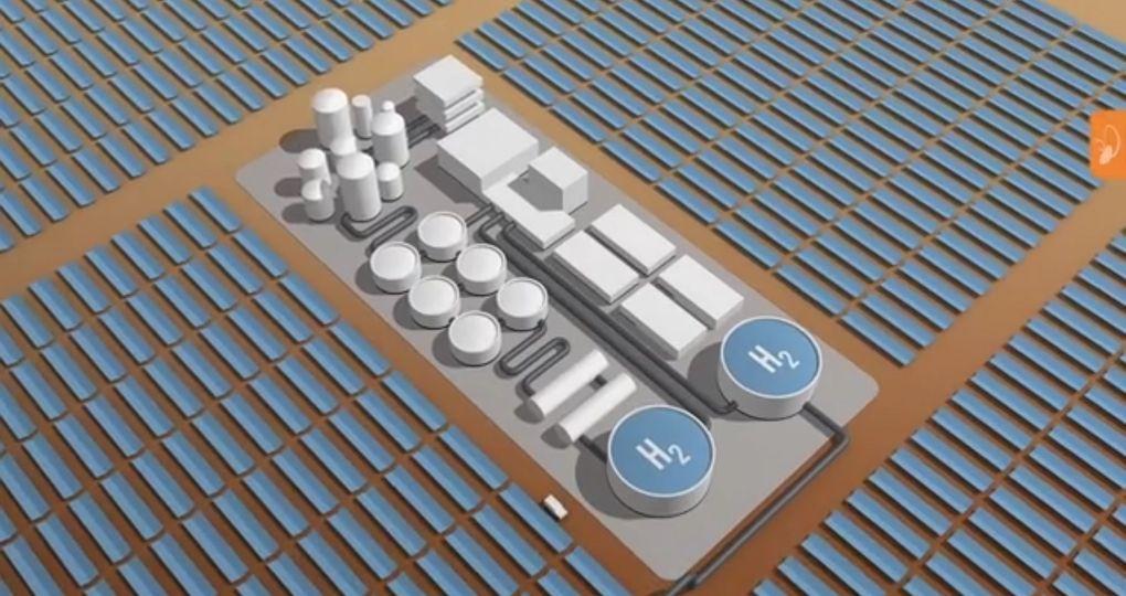 Rondreizend tiny house toont twee systemen met waterstof