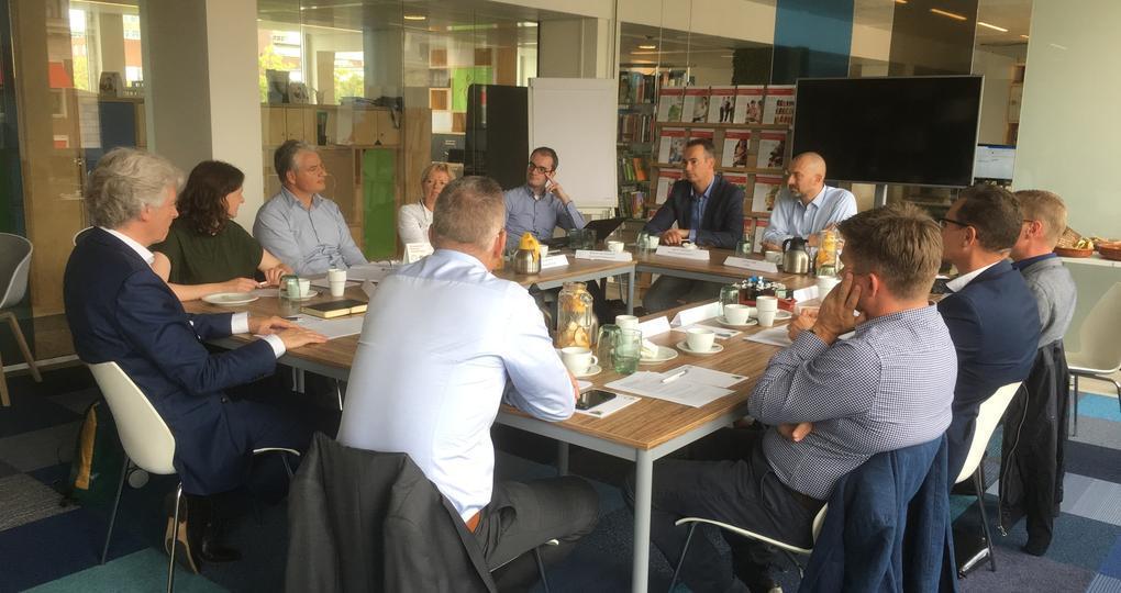 Round Table BIM op de bestuurstafel