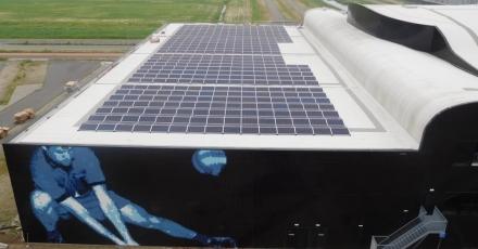 Ruim 1.200 zonnepanelen op Almeerse sportcomplexen