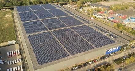 Ruim 15.000 zonnepanelen op 1 dak