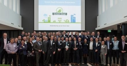Samenwerking Green Deal Circulaire Gebouwen en TU Delft