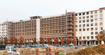 Sanitairfabriek ombouwen tot hotel