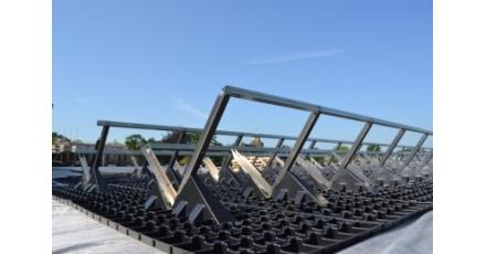 Sanoforum Brunssum krijgt eerste solar retentiedak