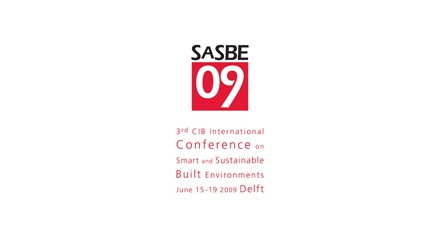 SASBE2009 - Smart and Sustainable Built Environments