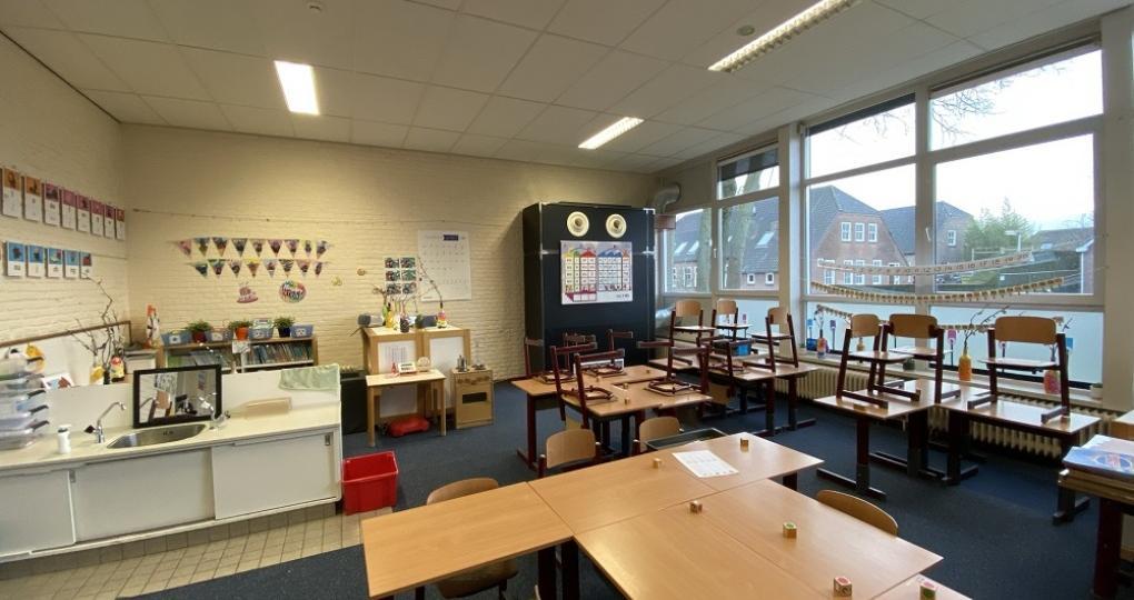 Semipermanente ventilatieoplossing maakt basisschool weer gezond