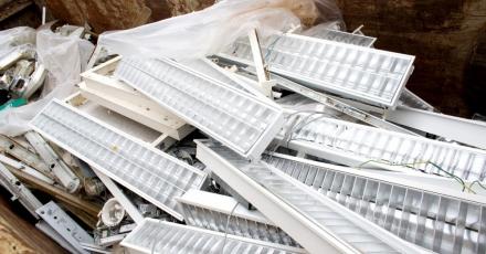 Sloopbranche moet meer verlichting inzamelen voor recycling