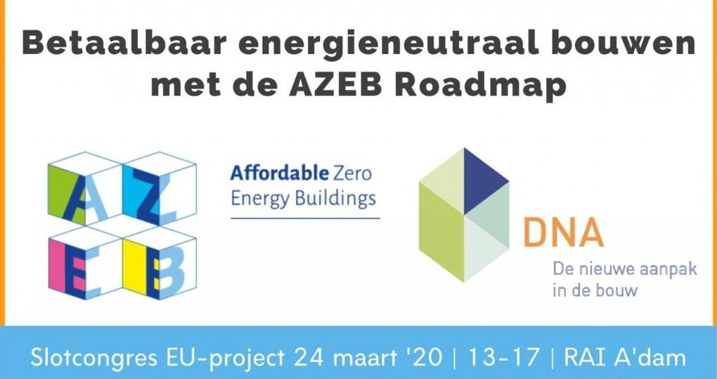 Slotcongres AZEB op Building Holland 2020