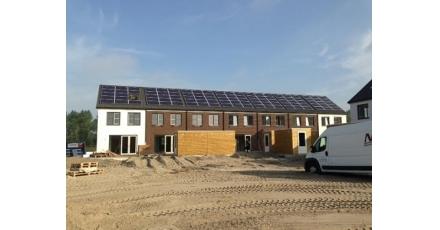 Snelle realisatie van energiezuinige huizen Green Poort Almere