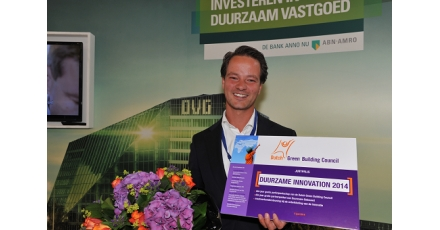 Solartable wint Duurzame Innovation Pitch 2014
