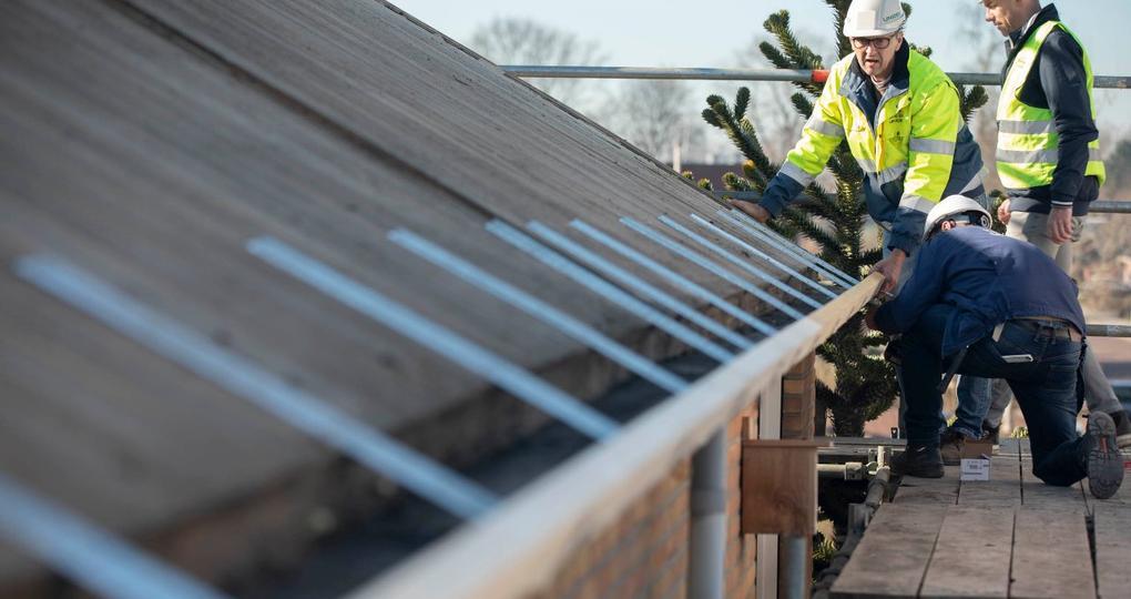 Standaard oplossing voor solide overstek bij renovaties