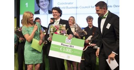 Stefan van Uffelen wint Duurzame 50 Vastgoed NL