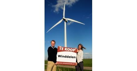 Stroom opwekken met eigen 'stukje' windmolen