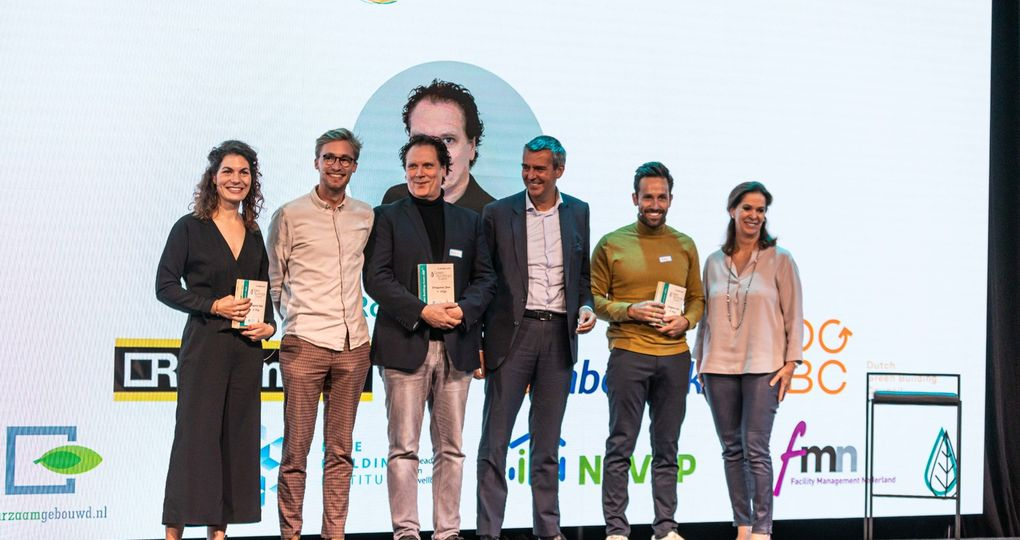 Sun Tank wint Dragons' Den tijdens het Green Buildings Event