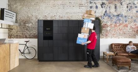 Technologische kast voor duurzame gebouwen