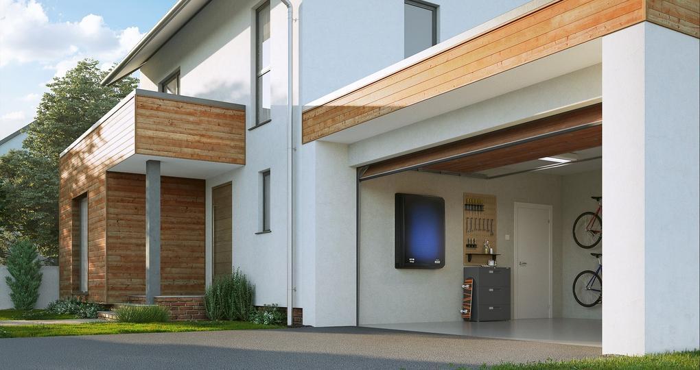 Thuisbatterij van voormalige elektrische auto's voor woningen
