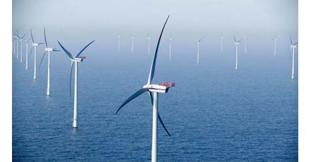 Tientje voor een windmolen