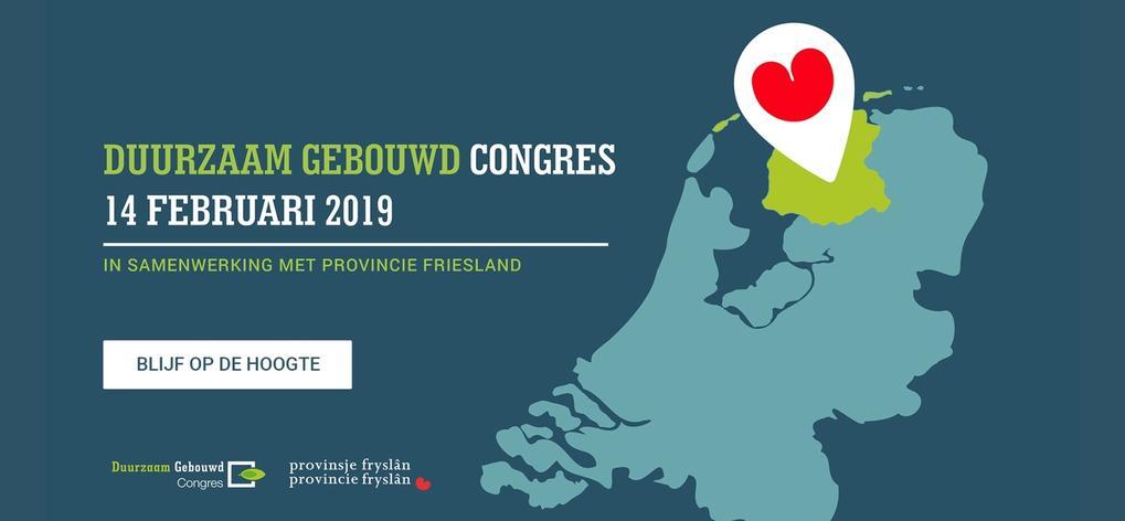 Tijd om af te tellen naar het Duurzaam Gebouwd Congres 2019