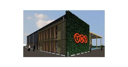 TNT opent eerste CO2-emissievrij bedrijfspand