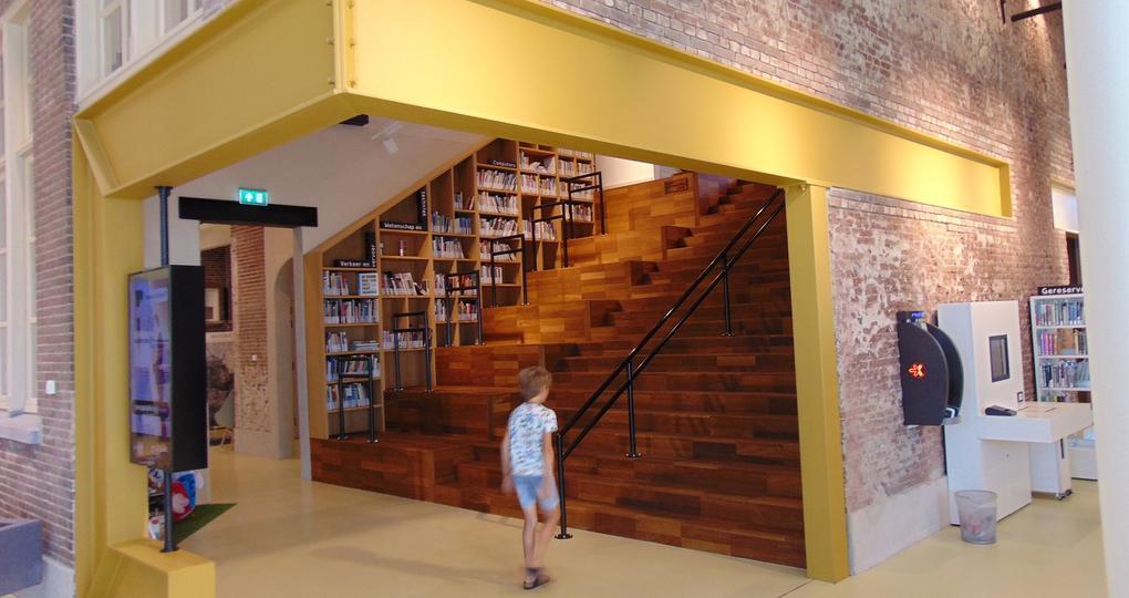 Transformatie van historisch schoolgebouw tot bibliotheek