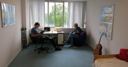 Van kantoor naar studentenwoningen