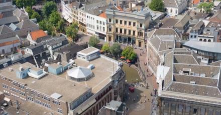Transformatiestimulans door kaart van gemeente Utrecht