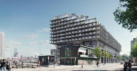 Tweede leven voor Rotterdamse Fenixloodsen