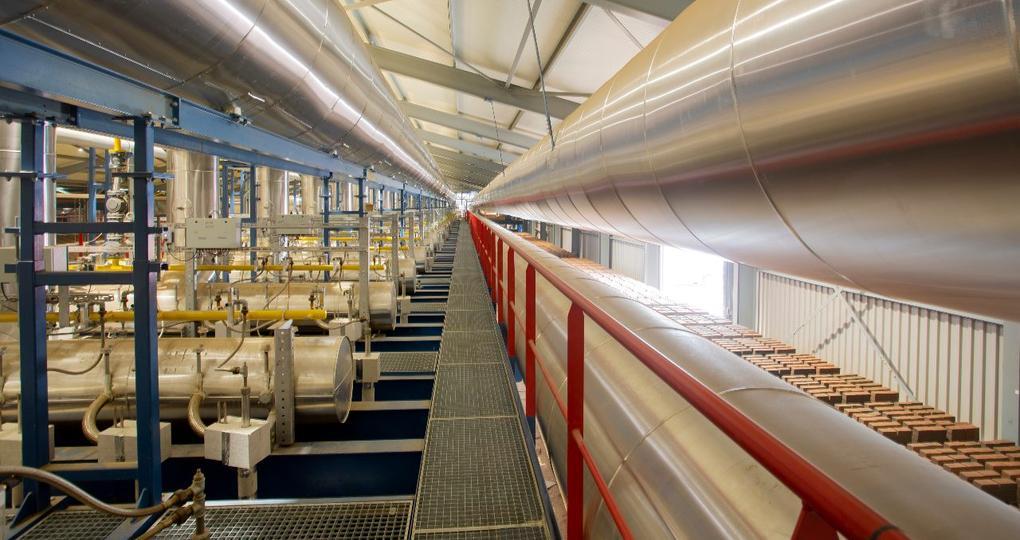 CO2-uitstoot energiezuinige baksteenoven kwart lager