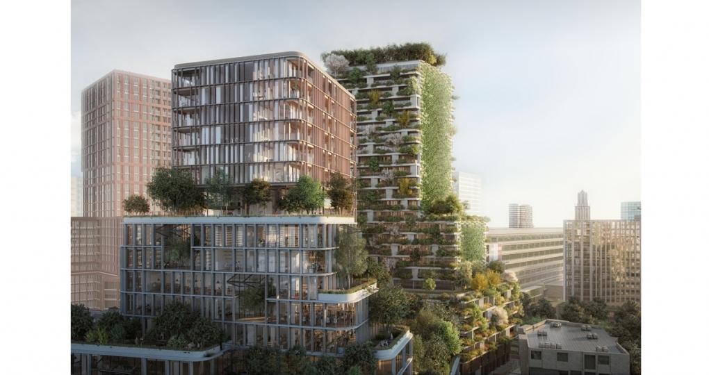Utrecht bouwt verticale bossen