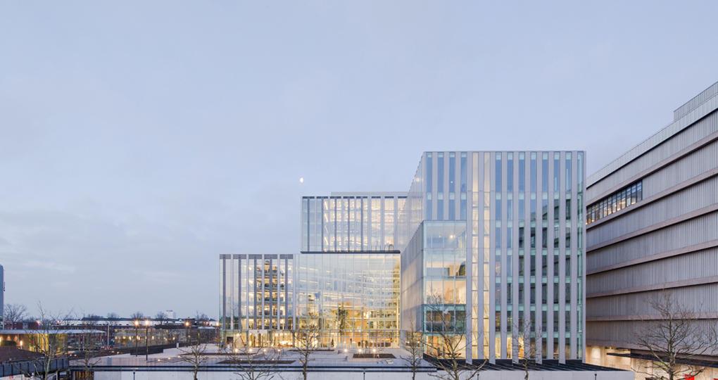 Utrechtse kazerne omgebouwd tot Rijkskantoor De Knoop