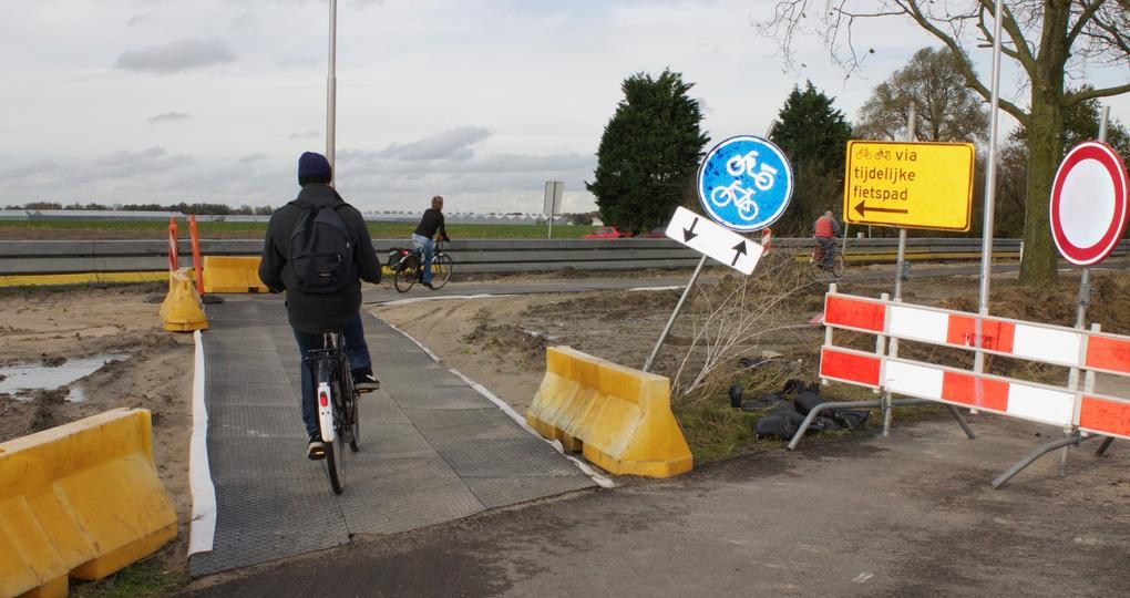 Van evenementenvloer tot fietspad