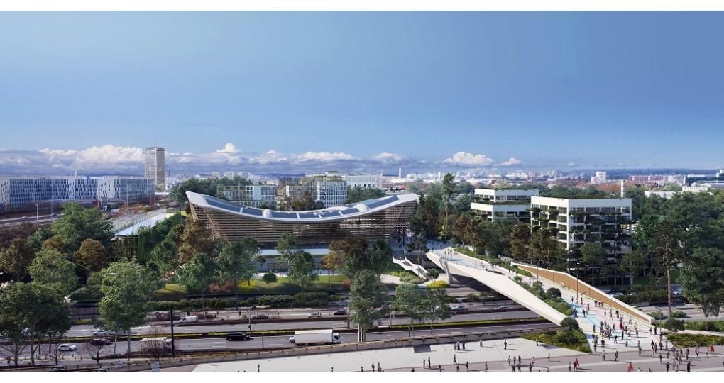 VenhoevenCS ontwerpt zwemstadion Parijs 2024