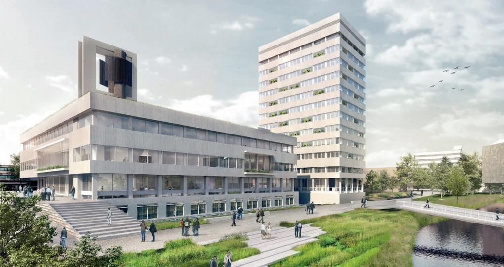 Verduurzaming stadhuis en stadhuistoren Eindhoven in de schijnwerpers