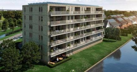 Verkoop 21 gasloze appartementen van start