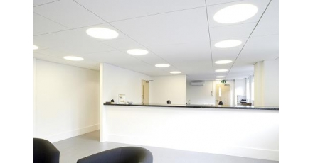 Vernieuwde geïntegreerde verlichting bespaart 60 procent energie