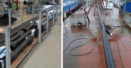 Vers drinkwater op schepen