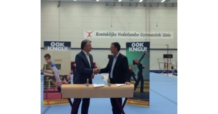 Vijfjarig partnership voor betere accommodaties gym- en danssport