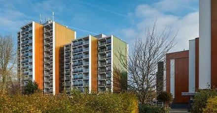 Volledig recyclebare panelen bij vernieuwing Weezenhof